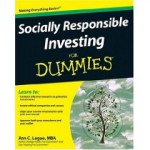 Socially Responsible Investing for Dummies is out of print