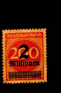 weimar stamp
