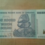 Zimbabwe's One Hundred Trillion Dollar Note